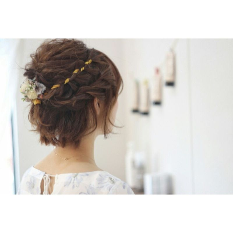 ドレスコード 髪型 簡単