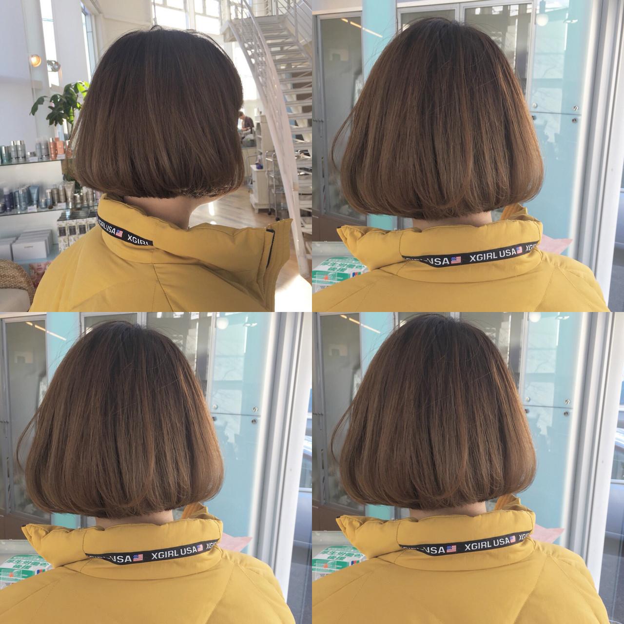 髪型 ロング ストレート 後ろ姿