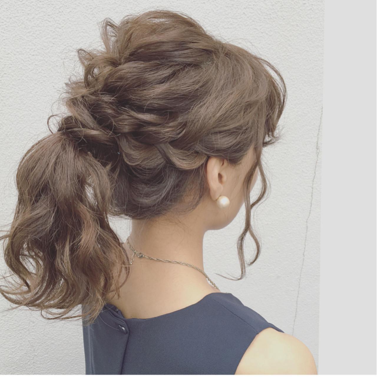 結婚式 ヘアセット 前髪
