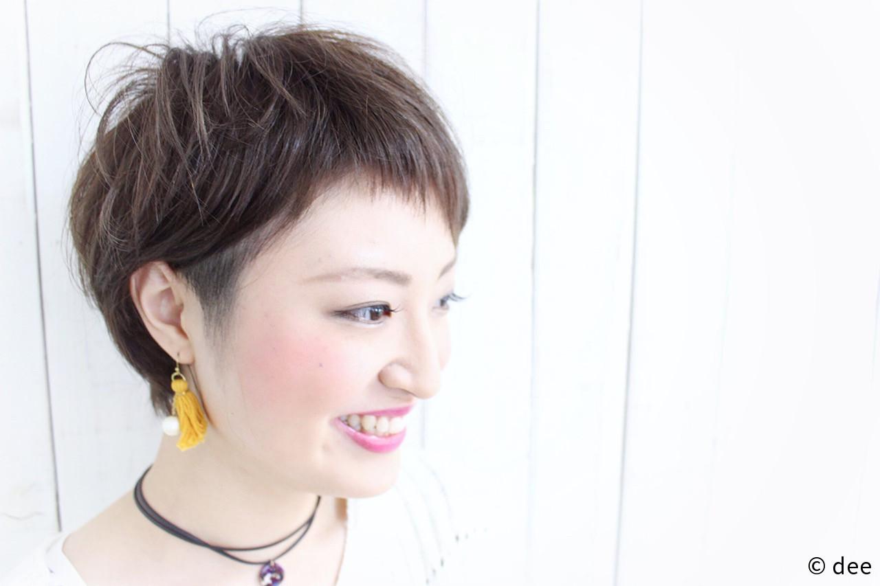 シニア 髪型 ショート 女性
