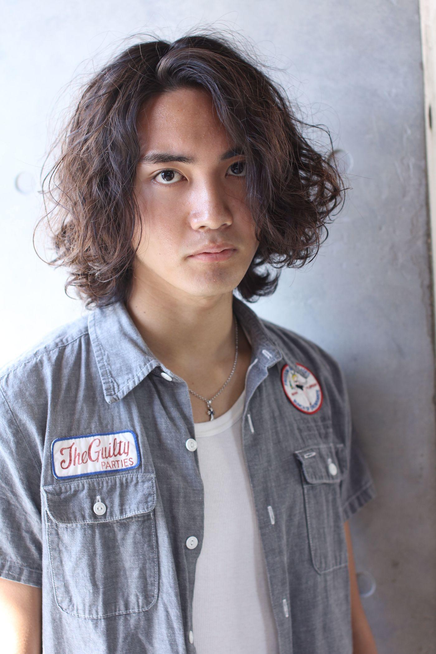 男 髪型 ツーブロック ロング