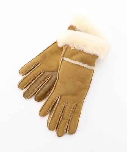 db9f45201548 UGG/アグ Seamed Tech Glove/ムートングローブ(タッチパネル対応 手袋)