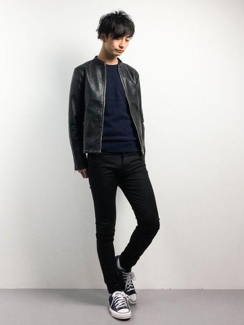 【メンズ】レザージャケットおすすめ着こなしコーデ16選!の16枚目の画像