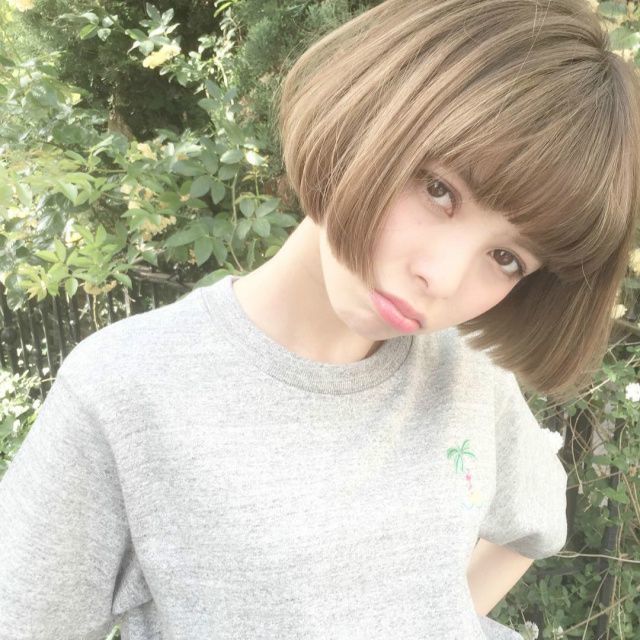 ぱっつん前髪ボブはやっぱりかわいい♡おすすめボブスタイル15選
