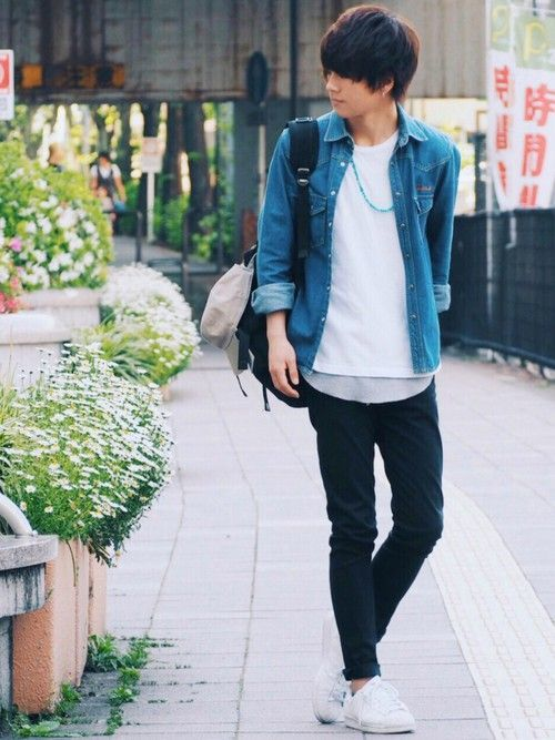 この春必見【メンズデニムシャツ】最強カジュアルコーデ10選!