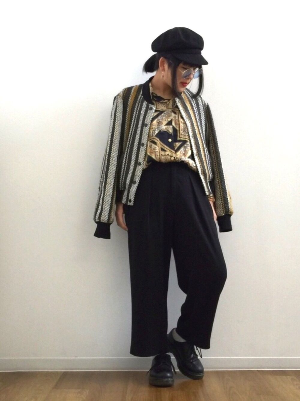 安くて着まわし力抜群♡ユニクロの使えるワイドパンツ5選の21枚目の画像