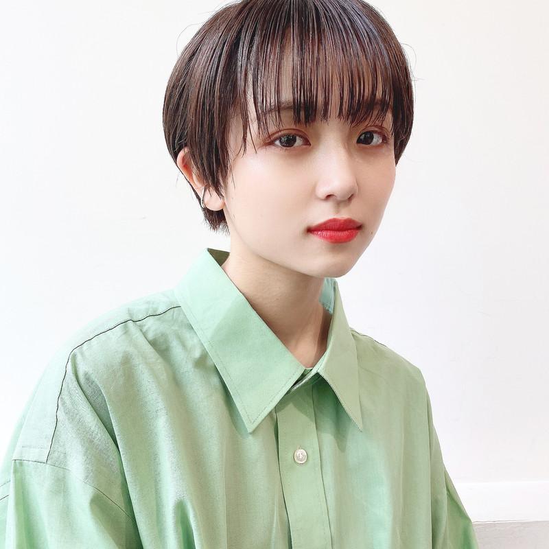 【前髪あり・なし│ショートヘアカタログ】今旬カラー・前髪診断も!