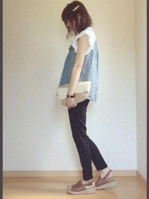 【裾・襟・袖を切るだけ】フリンジも完成!Tシャツリメイクの作り方の5枚目の画像