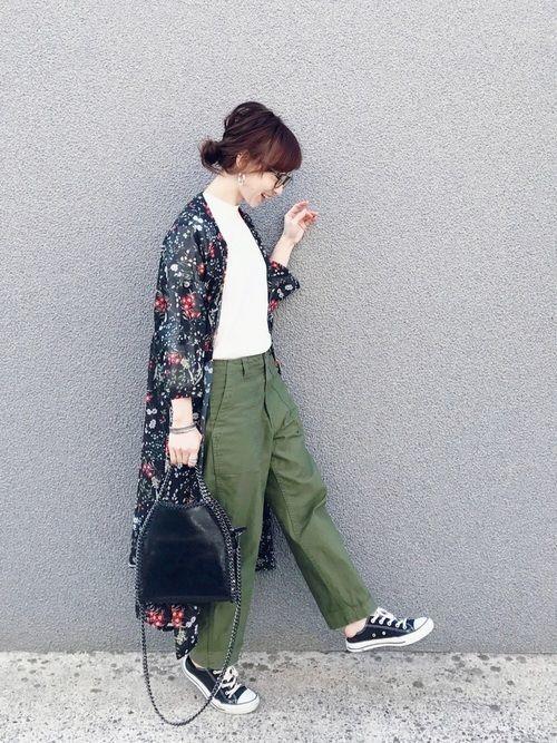【2019年トレンド】ベイカーワイドパンツ着こなしコーデ特集♡の16枚目の画像