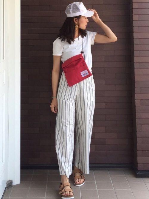 【2020年トレンド】ベイカーワイドパンツ着こなしコーデ特集♡の13枚目の画像