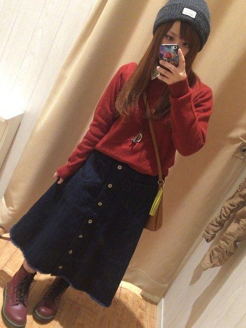 今年いちばん女度高めな私に♡秋冬ロングスカートの魅力を徹底解説!の11枚目の画像
