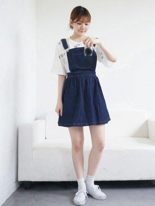 コーデ ジャンパー スカート