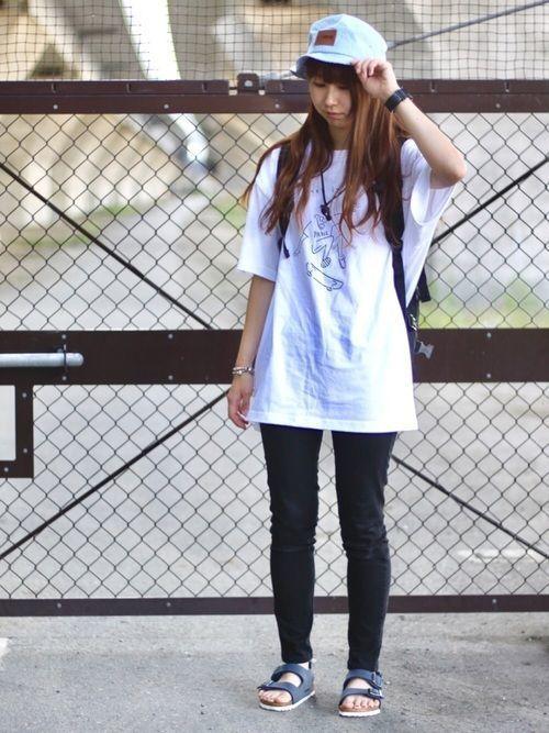 Tシャツを着るならだんぜんビックシルエットがかわいい♡の8枚目の画像