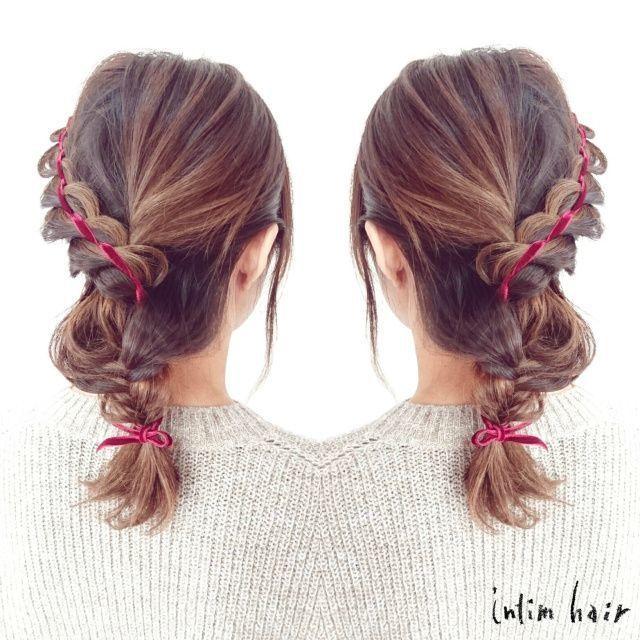 もう悩まない!結婚式お呼ばれヘアスタイルは編み込みでキュートに♡の8枚目の画像