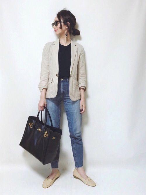 【テーラードジャケット】できれいめスタイル!人気ブランドコーデ集
