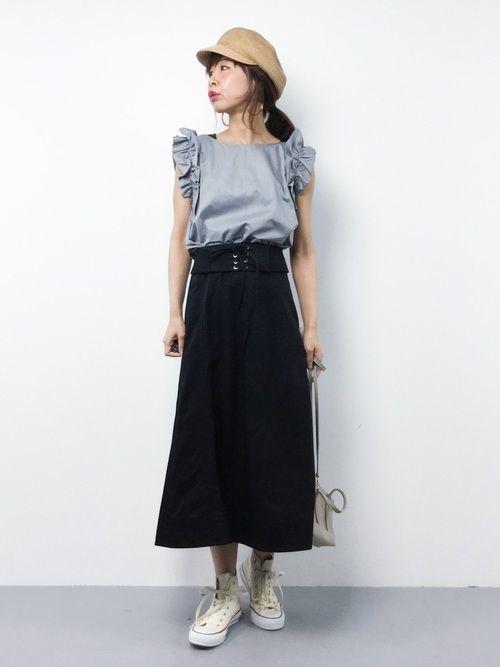 2019年はコルセットスカートがくる!かわいいコーデの作り方♡の6枚目の画像