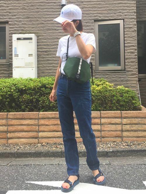 【2018】夏を楽しめ!キャップを使ったレディースコーデ!の11枚目の画像