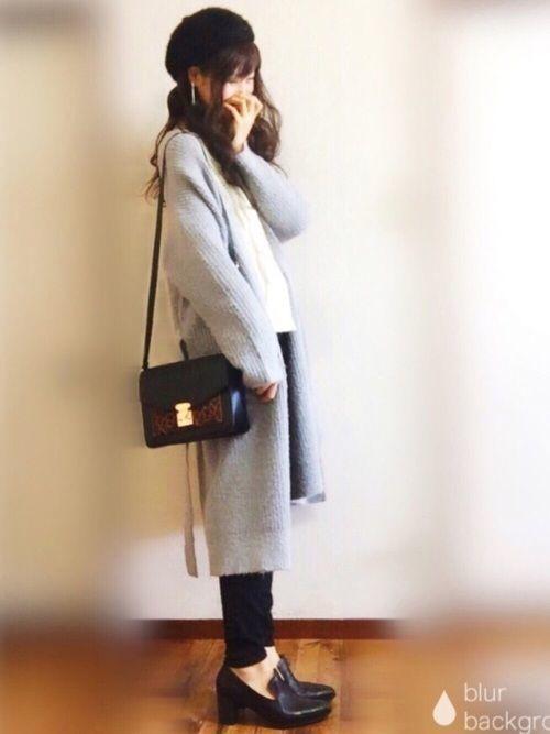 ≪小物ではじめる冬支度≫ベレー帽でコーデに華やかさプラス♡の3枚目の画像