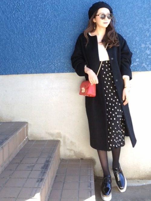 ≪小物ではじめる冬支度≫ベレー帽でコーデに華やかさプラス♡の2枚目の画像