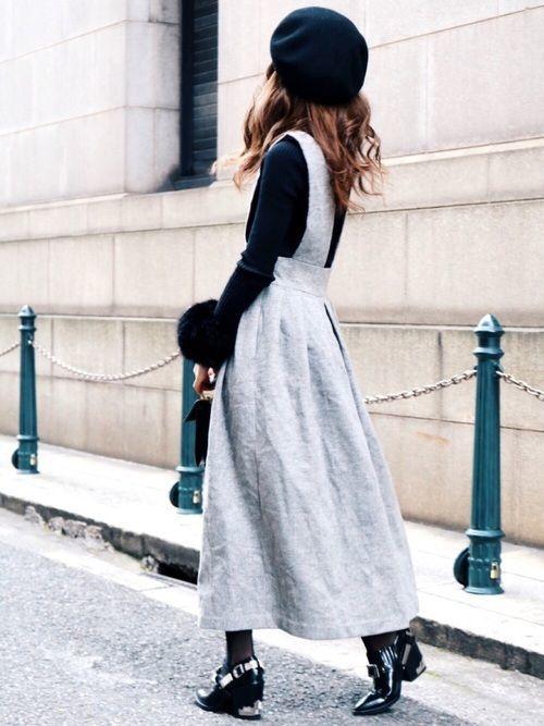 ≪小物ではじめる冬支度≫ベレー帽でコーデに華やかさプラス♡の1枚目の画像