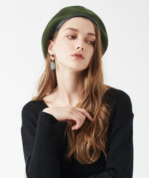 ≪小物ではじめる冬支度≫ベレー帽でコーデに華やかさプラス♡の8枚目の画像