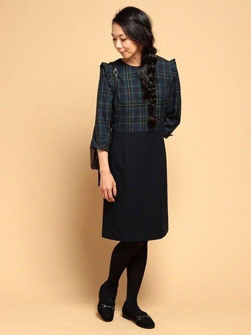6b491dda9d3dd チェックシャツが王道ですが、スカートで取り入れられるのはレディースコーデならでは。お利口さん見えコーデになるので、通学コーデに最適です!