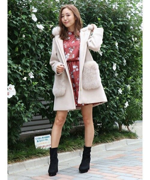 今年の冬は、フェミンなAラインコートでみんなの視線を独り占め♡の2枚目の画像