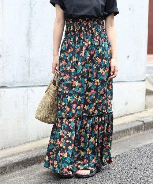 圧倒的かわいい♡秋冬コーデもプリントスカートでおしゃれ着こなし♡の7枚目の画像