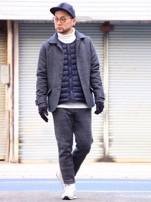 【メンズ冬】インナーダウンコーデ大特集!人気ブランドもご紹介