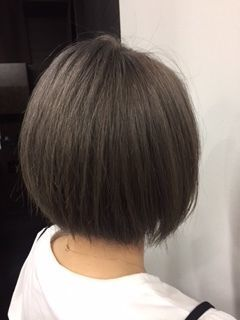 【暗髪・アッシュ】フレンチセピアアッシュで透明感のある髪色に♡の10枚目の画像