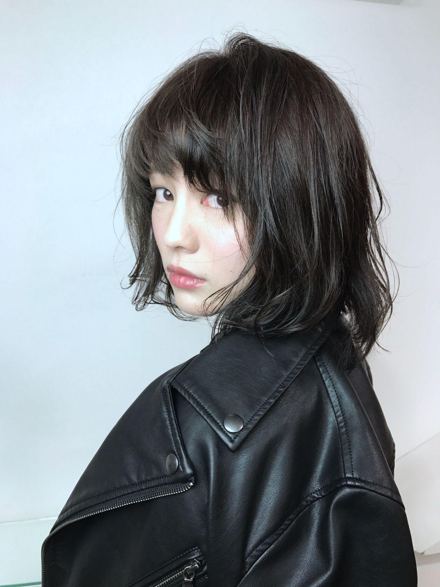 【暗髪・アッシュ】フレンチセピアアッシュで透明感のある髪色に♡の6枚目の画像