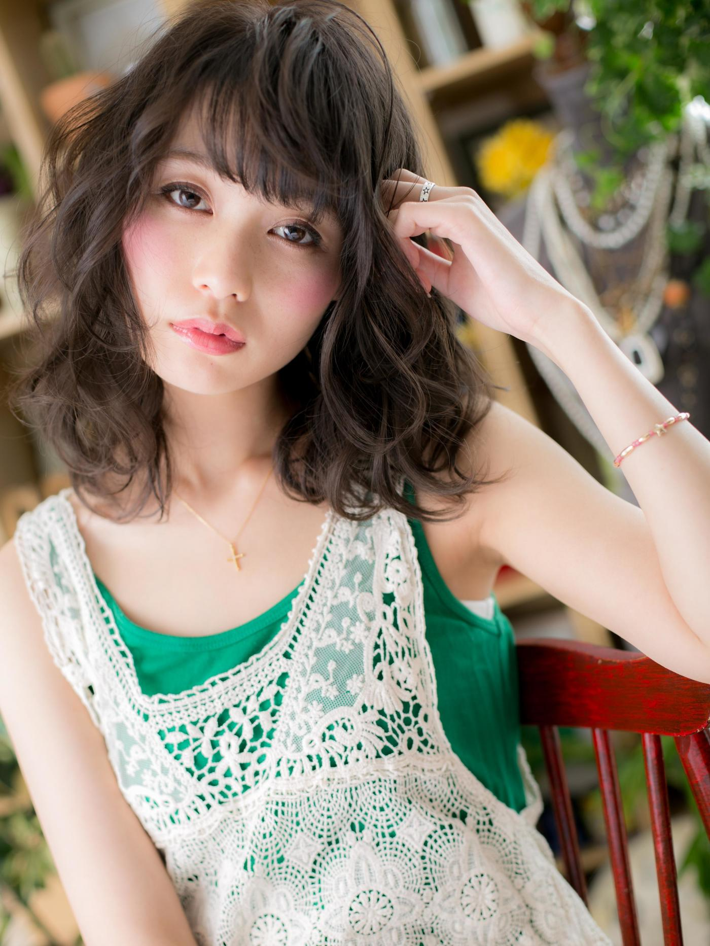 【暗髪・アッシュ】フレンチセピアアッシュで透明感のある髪色に♡の4枚目の画像