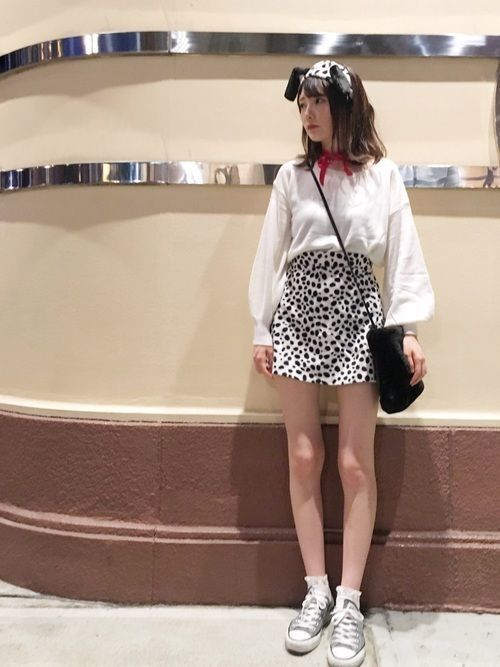 コスチューム不要!私服だけで出来るお手軽ハロウィンコーデ2018の2枚目の画像