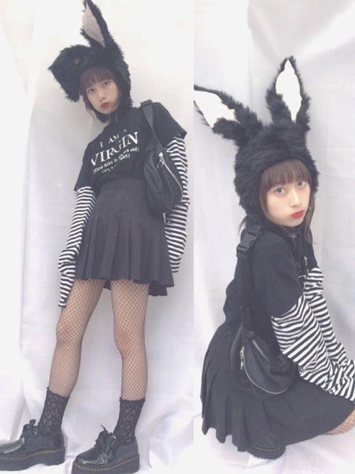 コスチューム不要!私服だけで出来るお手軽ハロウィンコーデ2018の7枚目の画像