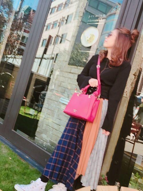 【女子大学生必見】通学にぴったり♡A4入るレディーストートバッグの5枚目の画像