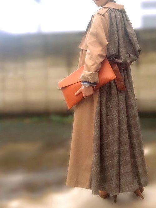 冬だってトレンチが好き♡トレンチコートのおすすめコーデまとめの1枚目の画像
