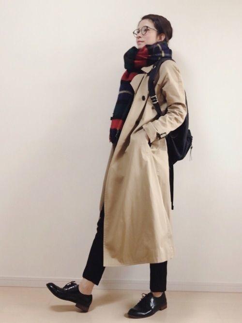 冬だってトレンチが好き♡トレンチコートのおすすめコーデまとめの2枚目の画像
