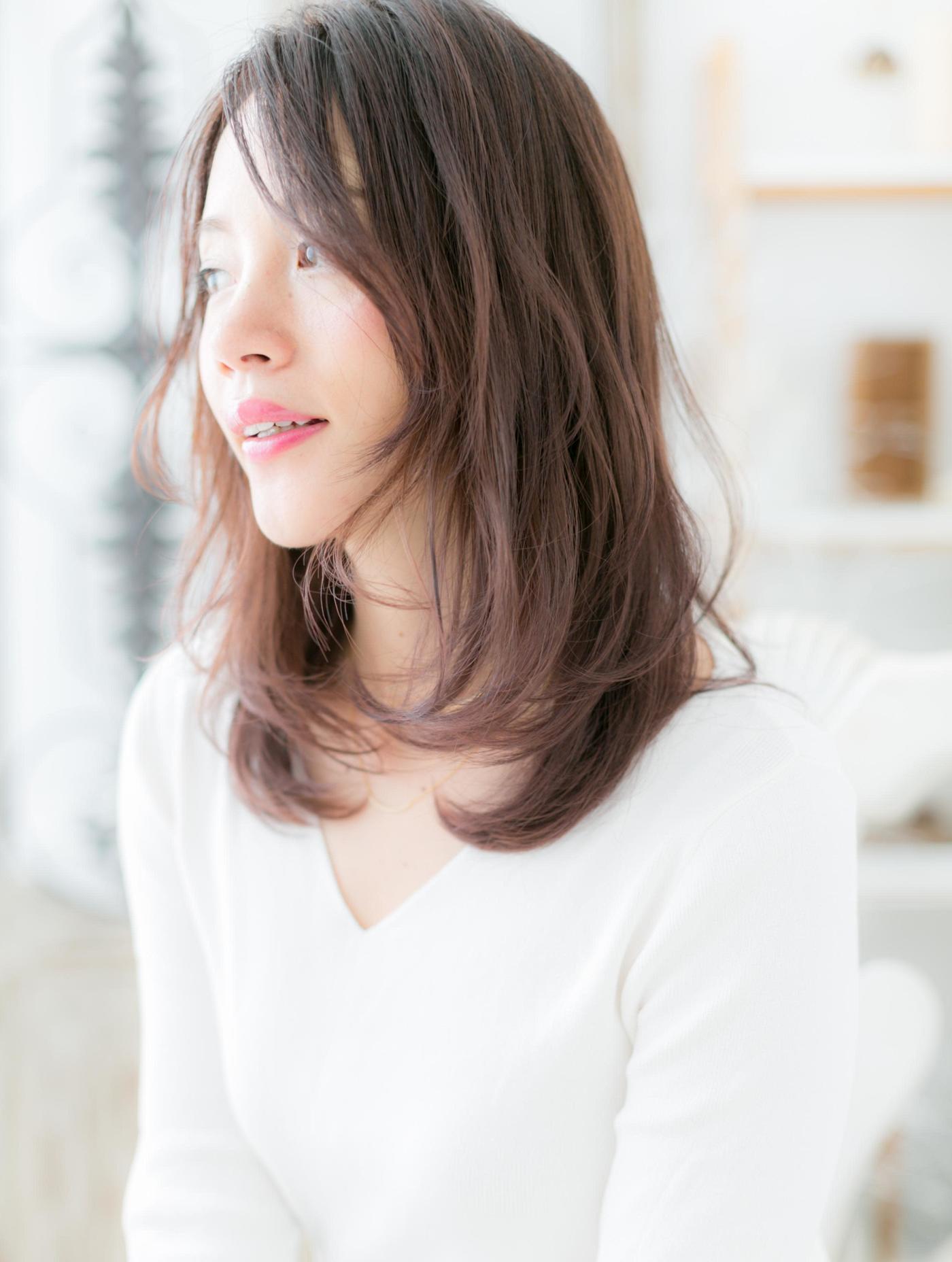 《最新版》面長さんに似合う髪型厳選!面長を生かして美人魅せ♡の28枚目の画像