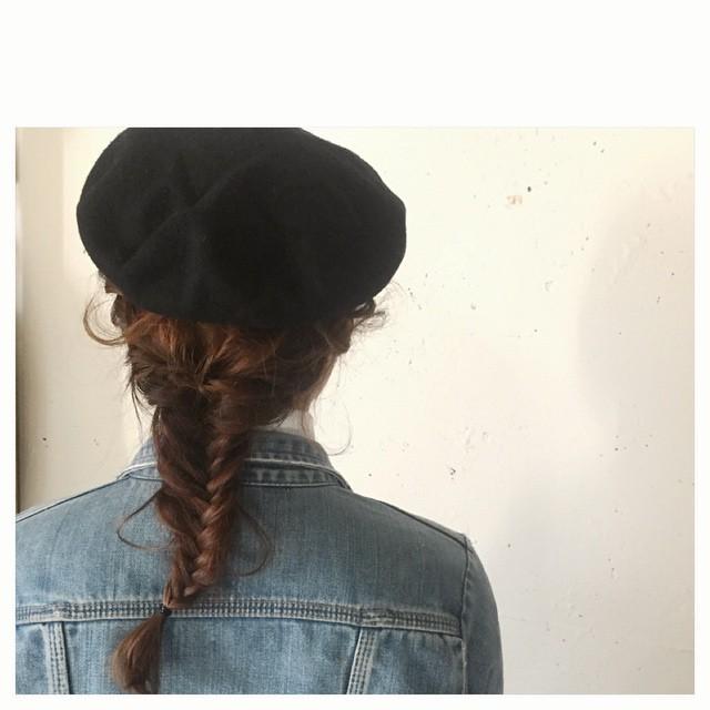 おしゃれさん必見♡モテを呼び込む1weekベレー帽の髪型アレンジの10枚目の画像