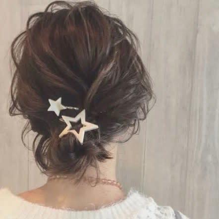 【ショートの結婚式ヘアアレンジ特集】お呼ばれヘアで華やかにセットの16枚目の画像