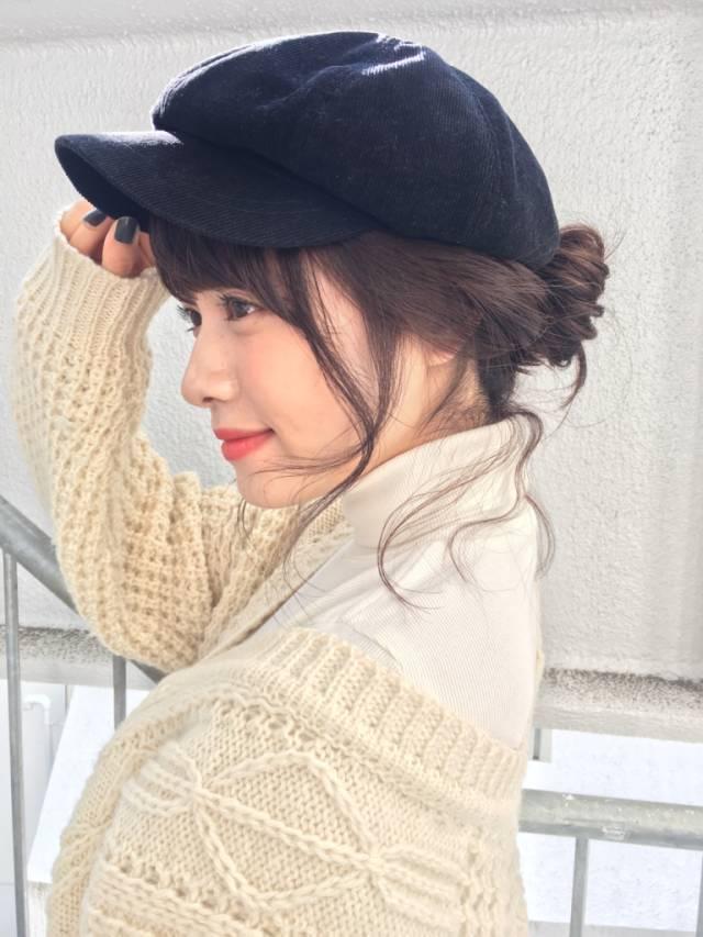 あざとかわいい♡お団子ヘアで簡単かわいいヘアアレンジに仕上げる!の14枚目の画像