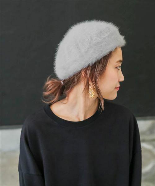 【ロングの方必見】ベレー帽、冬のマストアイテムのかぶり方!の8枚目の画像