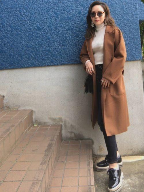 メンズウケ◎なブラウンコートを秋冬に取りいれておしゃれさんに♡の4枚目の画像