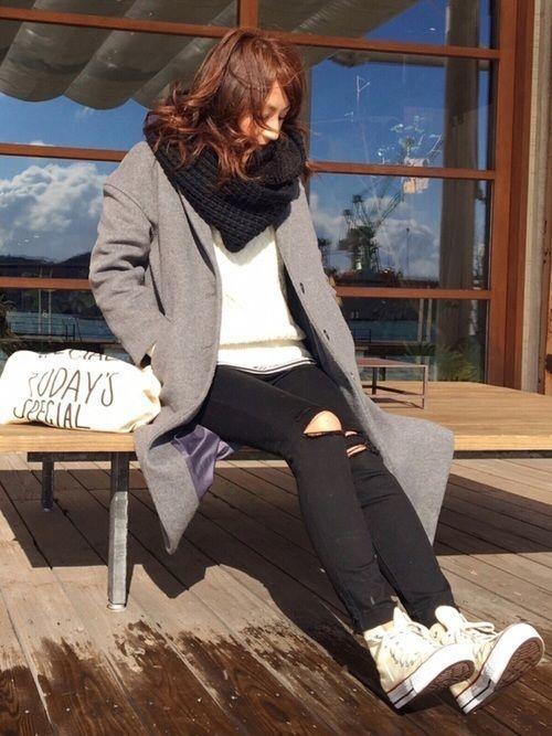 スヌードで暖かさもおしゃれも同時ゲット♡スヌードコーデをご紹介!