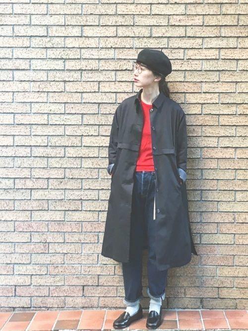 """""""Aラインコート""""は愛されシルエット♡この冬推すAラインコート集の1枚目の画像"""