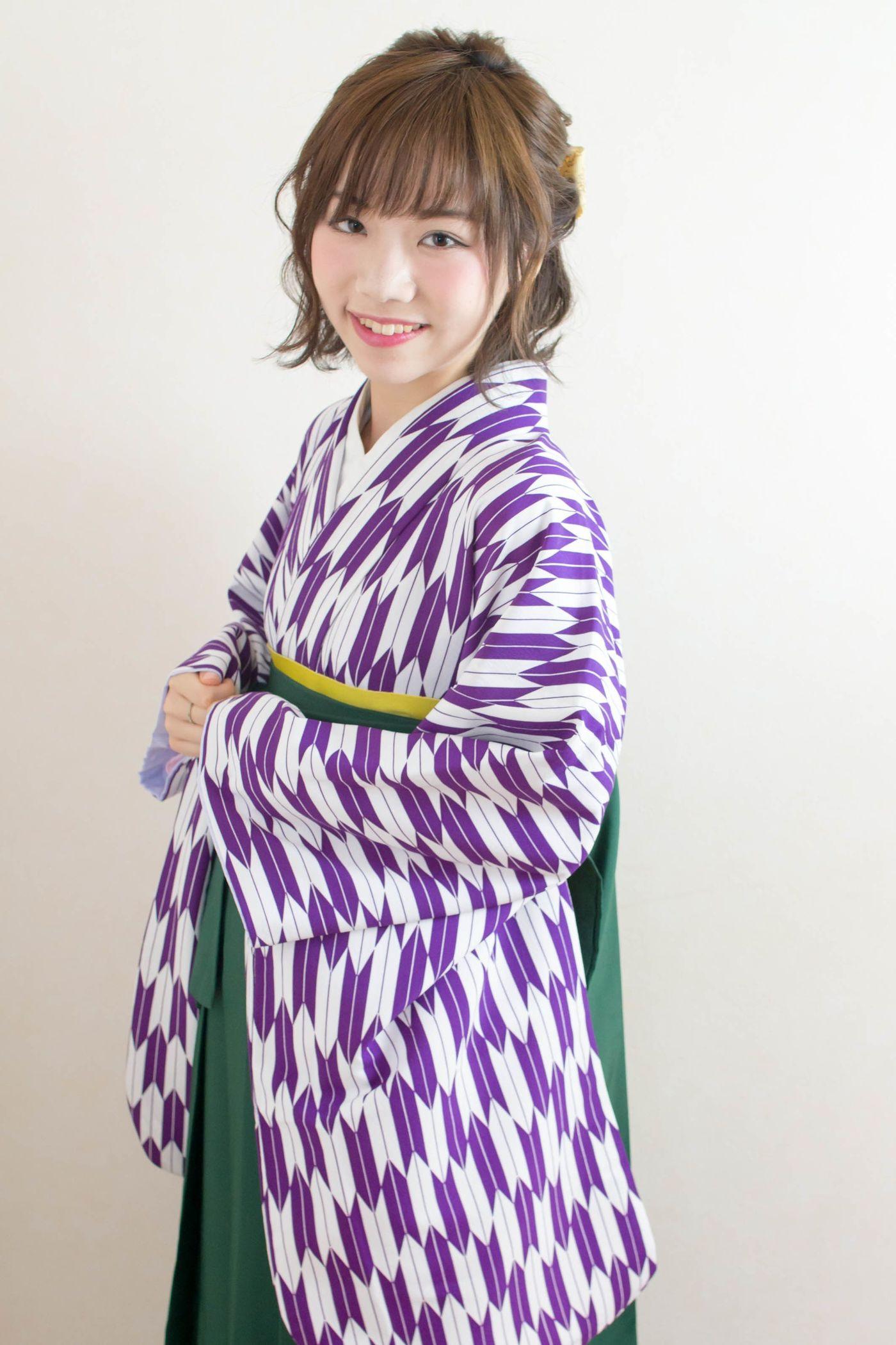 髪型 袴 卒業 式