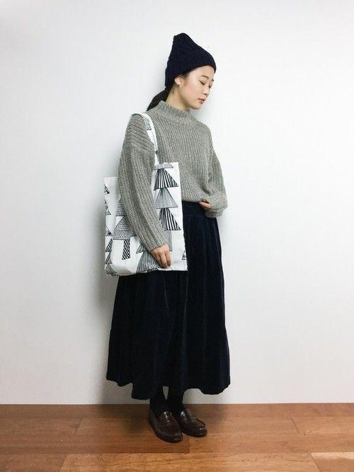 【コーデュロイスカート】で秋冬おしゃれを制覇せよ!♡の17枚目の画像