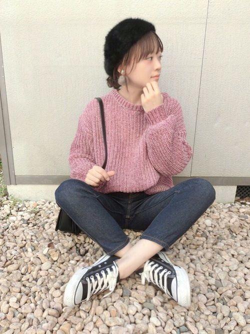 【2019年】レディース必須アイテム!ベレー帽の秋冬コーデ♡の11枚目の画像