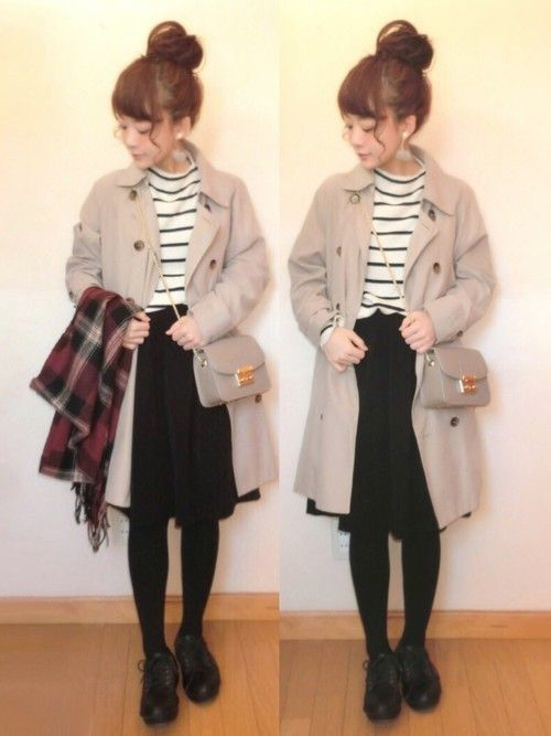 「冬トレンチ」のすすめ♡冬のトレンチコート着こなし10選の4枚目の画像