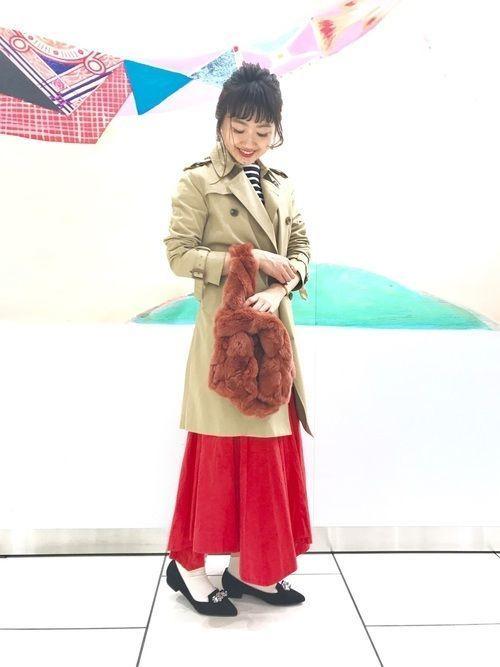 「冬トレンチ」のすすめ♡冬のトレンチコート着こなし10選の8枚目の画像